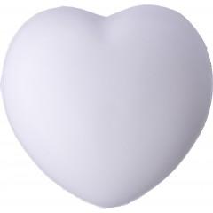 Antistresno srce Heart za roko, bela 8033-02