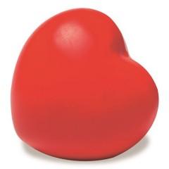 Antistresno srce Heart za roko, rdeča 8033-08