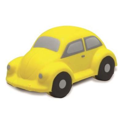 Anti stresni pripomoček v obliki avta Car, rumena 8034-06