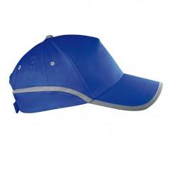 5-delna baseball kapa z odsevnim robom in odsevnim trakom Dallas, modra 804404