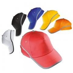 5-delna baseball kapa z odsevnim robom in odsevnim trakom Dallas, rdeča 804405