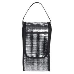 Hladilna torba - etui za steklenico s pokrovom in ročajem 29x16x14cm Trelleborg, črna 810703
