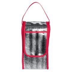 Hladilna torba - etui za steklenico s pokrovom in ročajem 29x16x14cm Trelleborg, rdeča 810705