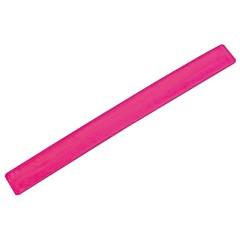 Odsevni varnostni trak - zapestnica za na roko ali nogo - vzmetna Teneriffa, roza 815711
