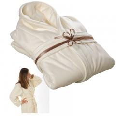 Kopalna - kopalniška halja iz flisa, univerzalna velikost L Parksville, beige 823813