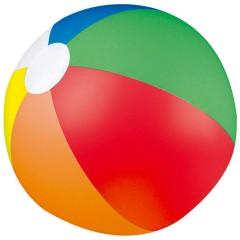 Napihljiva plažna žoga - večbarvna 40cm Palm Springs, večbarvno 8260MC