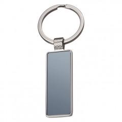 Kovinski podolgovat obesek za ključe Grand Haven, siva 834807