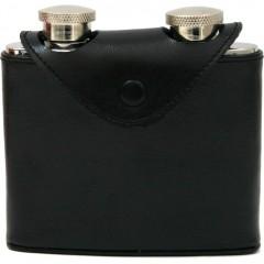 Dvojna žepna čutarica 85066, črna