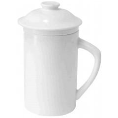 Čajna skodelica s pokrovom in cedilom Winter 85352