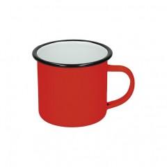Emajlirana skodelica Retro 350 ml. 8541003, rdeča
