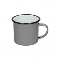 Emajlirana skodelica Retro 350 ml. 8541014, siva
