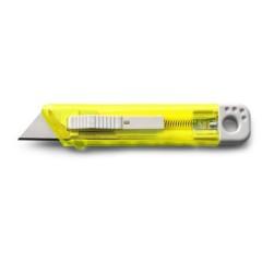 Vzmetni olfa nož - rezalnik, rumena 8545-06