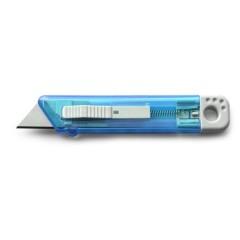 Vzmetni olfa nož - rezalnik, modra 8545-18