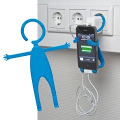 Nastavljiv nosilec za mobilni telefon za vtičnico Lodsch, modra 862004