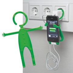 Nastavljiv nosilec za mobilni telefon za vtičnico Lodsch, zelena 862009