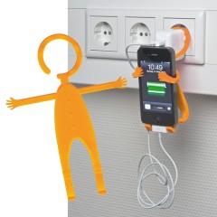 Nastavljiv nosilec za mobilni telefon za vtičnico Lodsch, oranžna 862010