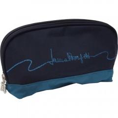 Zložljiv dežnik Laura v torbici 86375M, modra