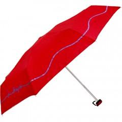 Zložljiv dežnik Laura v torbici 86375R, rdeča