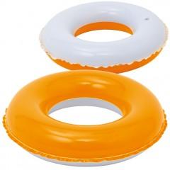 Napihljiv plavalni obroč 55cm Beveren, oranžna 863910