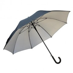 Golf dežnik Protect z gumijastim ročajem 8641902, črna