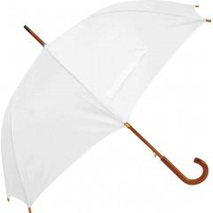 Dežnik Zeus X lesen ročaj, bela 130cm 86421BE