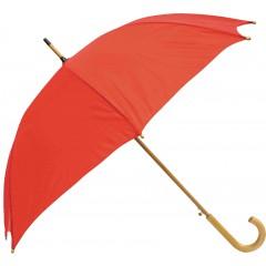Dežnik Zeus X lesen ročaj, rdeča 130cm 86421RD
