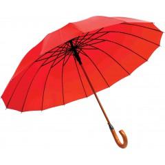 Dežnik Astar lesen ročaj, rdeča 130cm 86423RD