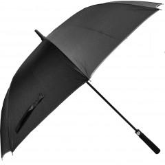 Dežnik Faro pena ročaj, črna 130cm  86424CR