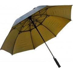 Golf dežnik Don s penastim ročajem 8642802, črna