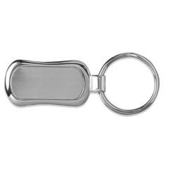 Kovinski obesek za ključe v darilni embalaži, srebrna 8654-32