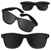 Sončna očala - promocijska - reklamna UV 400 Atlanta, črna 875803