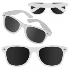 Sončna očala - promocijska - reklamna UV 400 Atlanta, bela 875806