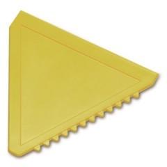 Strgalo za led - trikotno, rumena 8761-06