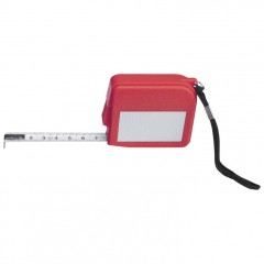 Meter - jekleni merilni trak z vrvico 2m La Paz, rdeča 880205