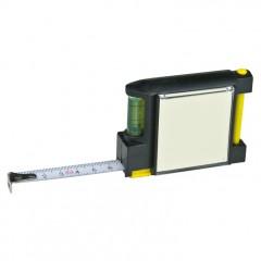 Večfunkcijski meter - jekleni merilni trak 2m Puerto Rico, črna 880903