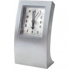 Kovinska namizna ura 88091, srebrna