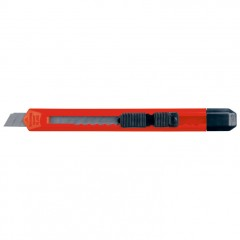 Olfa nož z zaustavljalcem 135mm San Salvador, rdeča 900305