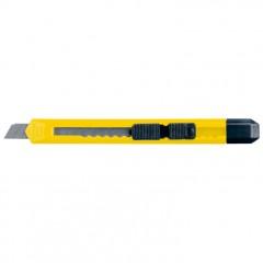 Olfa nož z zaustavljalcem 135mm San Salvador, rumena 900308