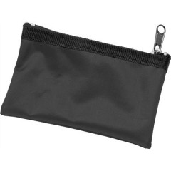 Denarnica za ključe z zadrgo na obesku Zipper, črna 9124-01