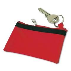 Otroška denarnica z zadrgo na obesku Zipper, rdeča 9124-08