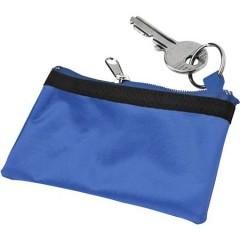 Otroška denarnica z zadrgo na obesku Zipper, modra 9124-23