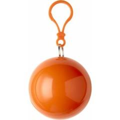 Pončo - palerina za dež v okroglem obesku, oranžna 9137-07
