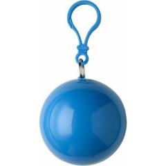 Pončo - palerina za dež v okroglem obesku, modra 9137-18