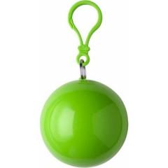 Pončo - palerina za dež v okroglem obesku, zelena 9137-29
