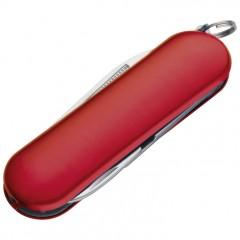 Mali žepni nož - pipec z rinko 6cm Guadalajara, rdeča 960105