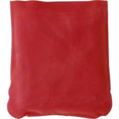 Napihljiva potovalna blazina za vrat - okoli vratu - v etuiju, rdeča 9651-08