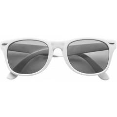 Modna promocijska sončna očala UV-400, bela 9672-02