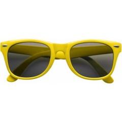 Modna promocijska sončna očala UV-400, rumena 9672-06