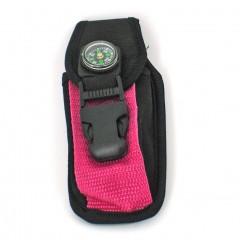 Etui - torbica za pas s kompasom Ljubljana, roza ART002311