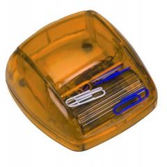 Namizna posoda za sponke ( z 20 sponkami ) Los Angeles, oranžna ART196310